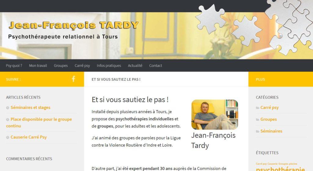 Jean François Tardy - Psychothérapeute Tours